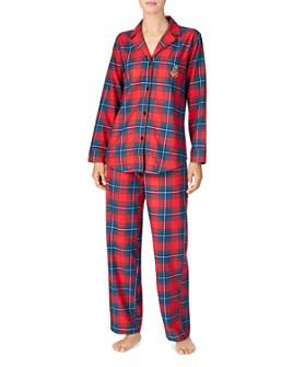 Ralph Lauren - Brushed Cotton Twill Pajama Set