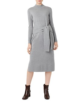 HOBBS LONDON - Tilly Tie-Waist Sweater Dress - 100% Exclusive
