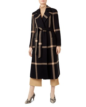HOBBS LONDON - Florina Plaid Coat - 100% Exclusive