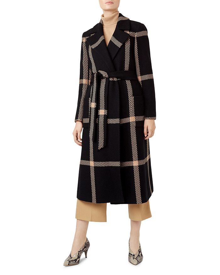 HOBBS LONDON - Florina Plaid Coat - 100% Exclusive
