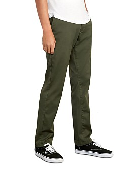 RVCA - The Weekend Stretch Slim Fit Pants