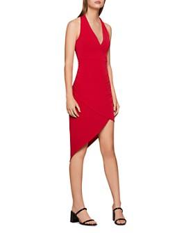 BCBGENERATION - Asymmetric Twist-Back Dress
