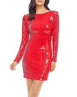 Dress the Population - Lola Sequin Mini Dress