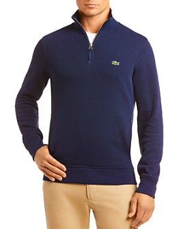 Lacoste - Quarter-Zip Classic Fit Sweater