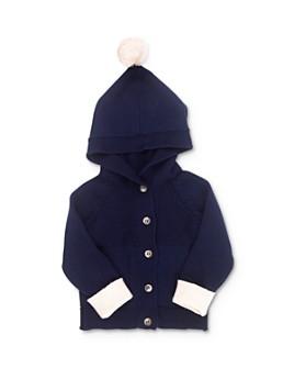 Tun Tun - Unisex Pom-Pom Hooded Cardigan - Baby