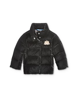 Ralph Lauren - Girls' Quilted Velvet Down Jacket - Little Kid
