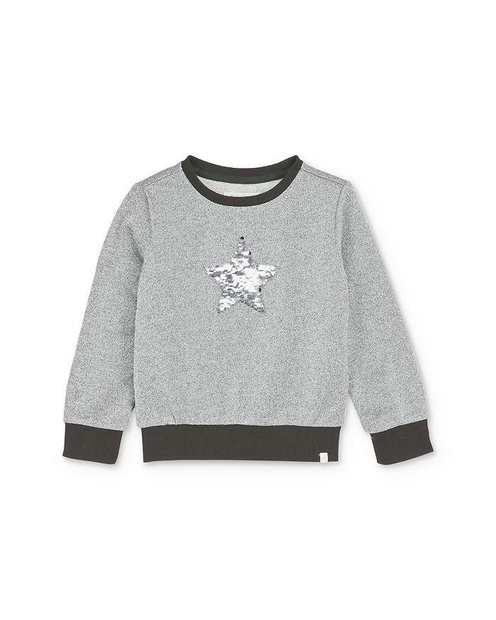Sovereign Code - Girls' Mila Flip-Sequin Star Sweatshirt - Little Kid, Big Kid