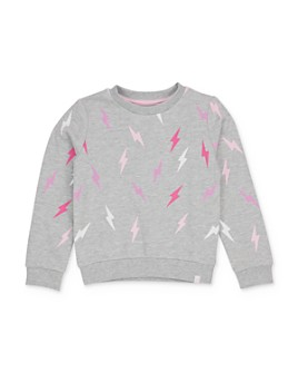 Sovereign Code - Girls' Nevah Lightening Bolt Sweatshirt - Big Kid