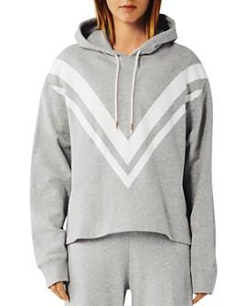 Tory Sport - Chevron French Terry Hooded Sweatshirt