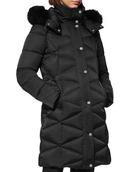 Andrew Marc - Fur-Trim Puffer Coat