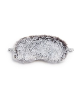 Hudson Park Collection - Faux Fur Eye Mask - 100% Exclusive