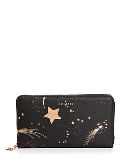 Ted Baker - Palome Moonstone Medium Leather Matinee Wallet