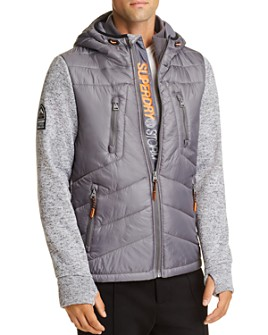 Superdry - Mixed-Media Storm Hooded Regular Fit