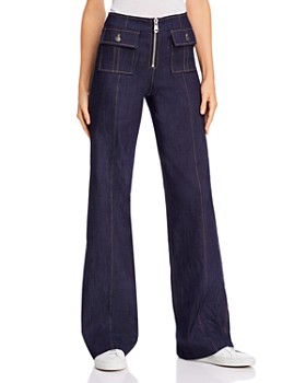 Cinq à Sept - Long Azure Jeans in Indigo