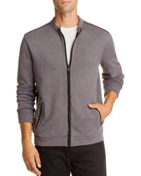 John Varvatos Star USA - Double-Knit Zip-Up Sweater - 100% Exclusive