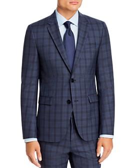 HUGO - Astian Plaid Extra Slim Fit Suit Jacket - 100% Exclusive