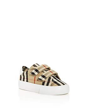 Burberry - Unisex Markham Check Low-Top Sneakers - Walker, Toddle