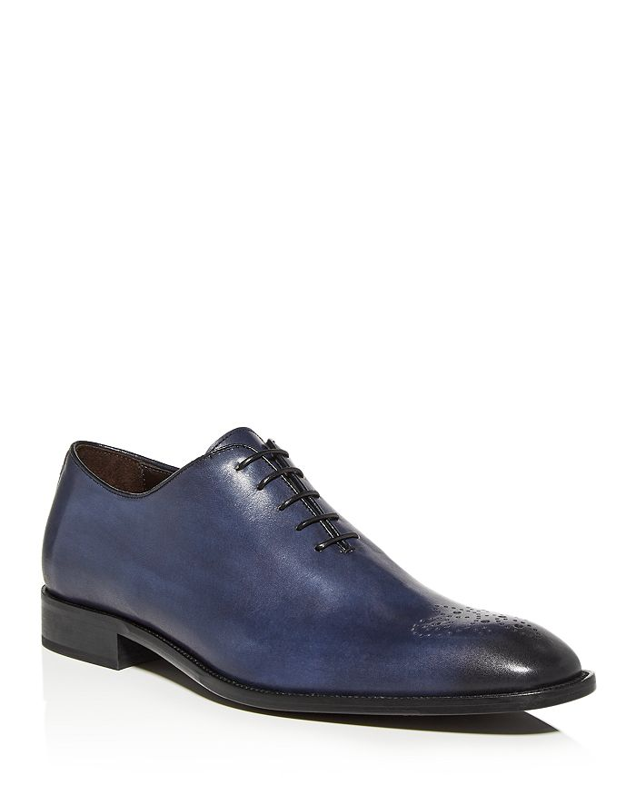 Dylan Gray Men's Carlucci Wholecut Lace-up Oxfords - 100% Exclusive In Navy