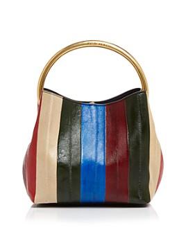 Tory Burch - Sydney Eel Patchwork Bucket Bag