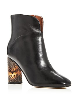 Sigerson Morrison - Women's Beatrice Square-Toe Booties