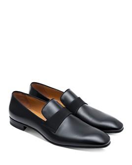 Paul Stuart - Men's Heron Leather Loafers
