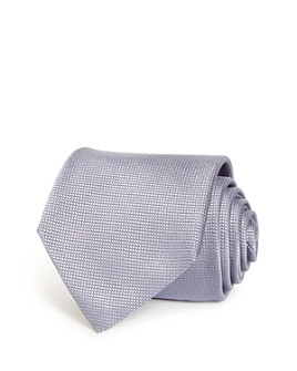 Armani - Micro Grid Silk Wide Tie