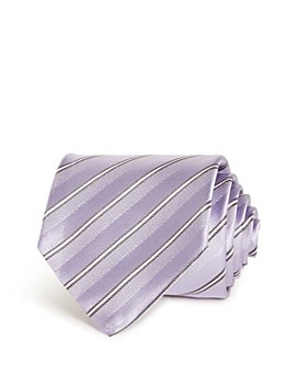 Armani - Striped Silk Wide Tie