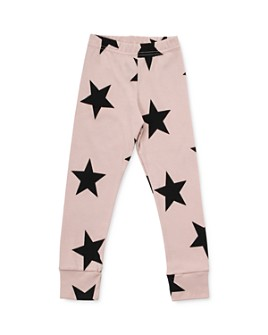 NUNUNU - Girls' Star Print Leggings - Little Kid