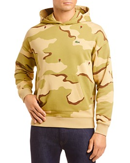Lacoste - Camo Hooded Sweatshirt