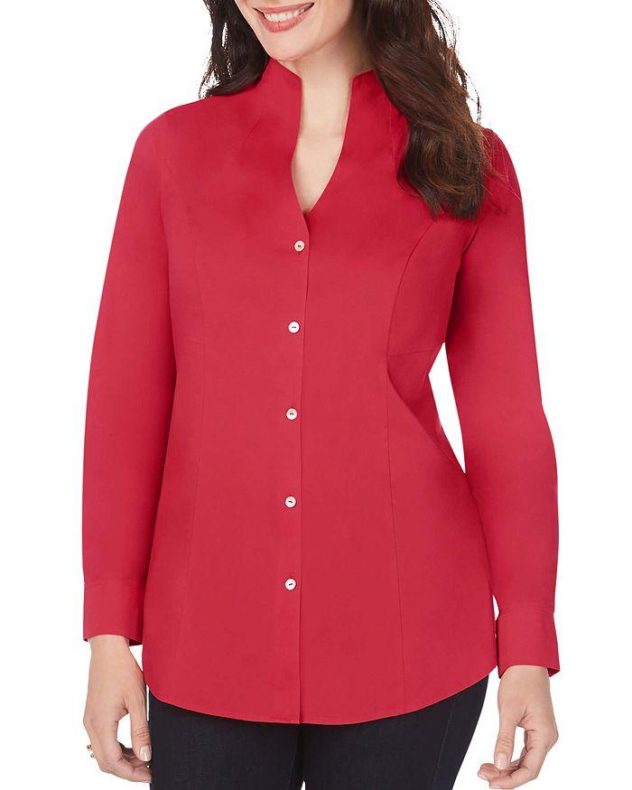 Foxcroft - Selma Non-Iron Stand-Collar Shirt