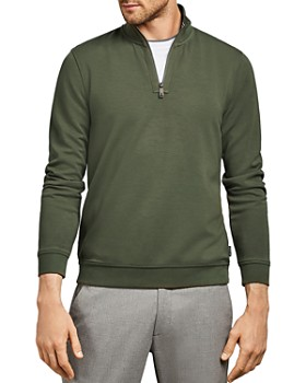 Ted Baker - MMB Sawce Funnel Neck Half-Zip Sweater - 100% Exclusive