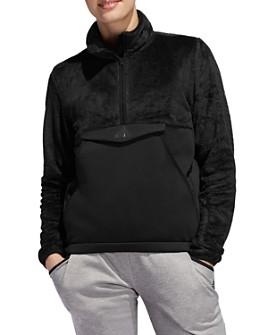 adidas Originals - Fleece Detail Half-Zip Sweatshirt