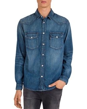 The Kooples - Denim Regular Fit Shirt