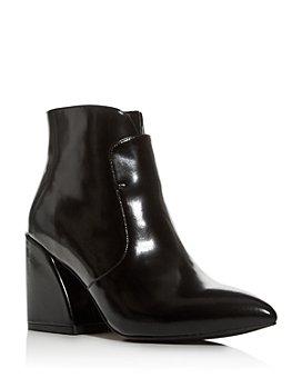 Jeffrey Campbell - Women's Pointed-Toe Block-Heel Booties