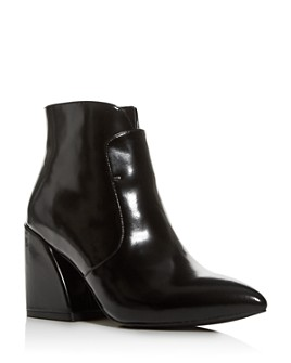 Jeffrey Campbell - Women's Pointed-Toe Block-Heel Booties