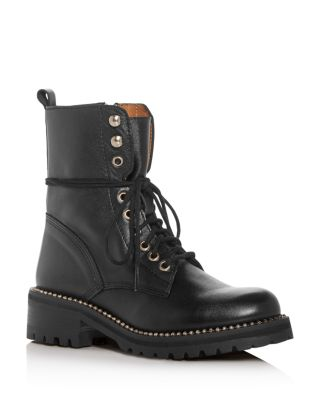 Aqua Women's Jax Combat Boots - 100