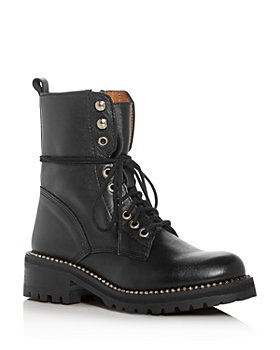AQUA - Women's Jax Combat Boots - 100% Exclusive