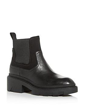 Ash - Women's Metro Block-Heel Platform Chelsea Boots