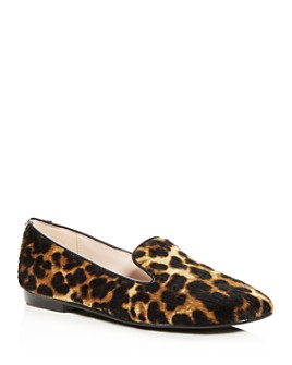 Taryn Rose - Women's Andrea Calf Hair Smoking Slippers