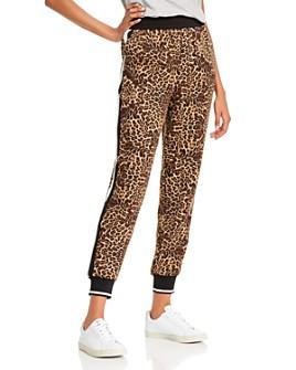 AQUA - Cheetah Print Jogger Pants - 100% Exclusive