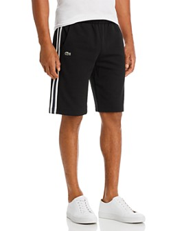 Lacoste - Side-Stripe Sweat Shorts