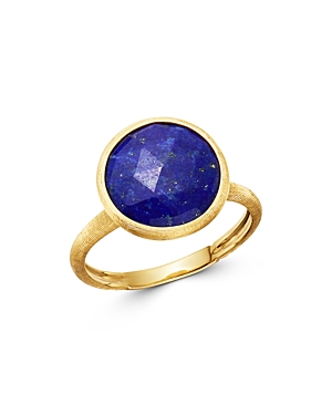 Marco Bicego 18K Yellow Gold Lapis Medium Stackable Ring-Jewelry & Accessories