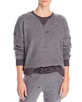 Vintage Havana - Reverse Fleece Embroidered Sweatshirt