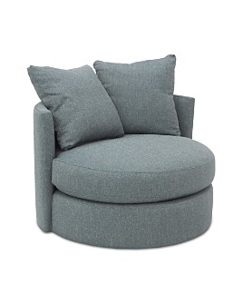 Bloomingdale's Artisan Collection - Hazel Swivel Chair