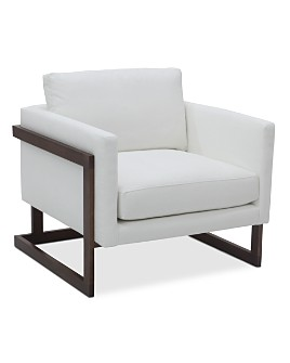 Bloomingdale's Artisan Collection - Magnolia Wood Frame Chair