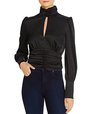Wayf Tops HOLLY PUFF-SLEEVE TOP - 100% EXCLUSIVE