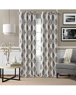 Elrene Home Fashions - Navara Medallion Room Darkening Curtain Panel