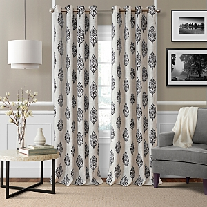 Elrene Home Fashions Navara Medallion Room Darkening Curtain Panel, 52 x 95