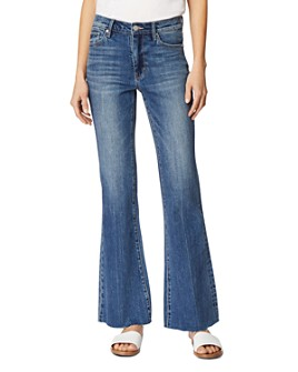 Habitual - Tess High Rise Flared Jeans in Mist