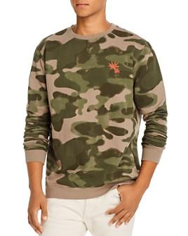 Banks Journal - Camo Fleece Sweatshirt